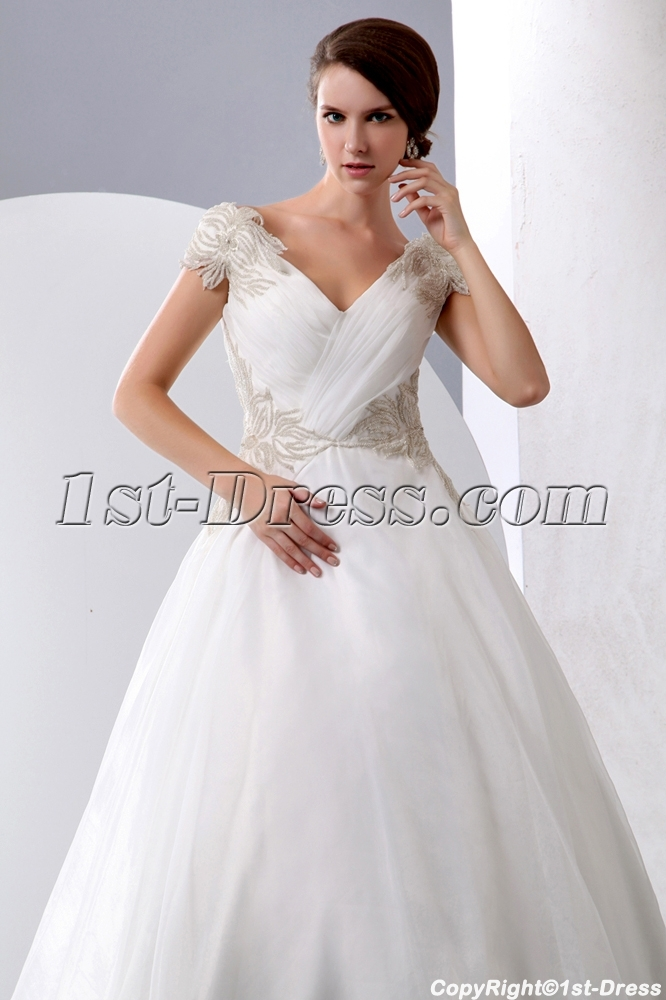 f041a0b77c Exquisite Princess Wedding Dress Off Shoulder with Corset (Free Shipping)