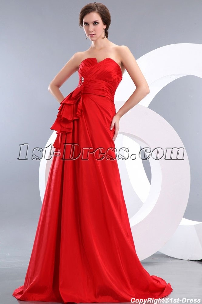 http://www.1st-dress.com/images/201401/source/Modest-Red-A-line-Taffeta-Ruffle-Evening-Dress-with-Train-4147-b-1-1389955630.JPG