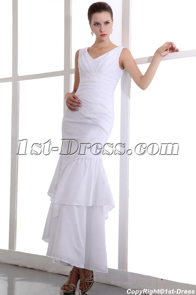 images/201401/big/Precious-White-Ankle-Length-Taffeta-V-neckline-Informal-Bridal-Gowns-4286-b-1-1390491878.jpg
