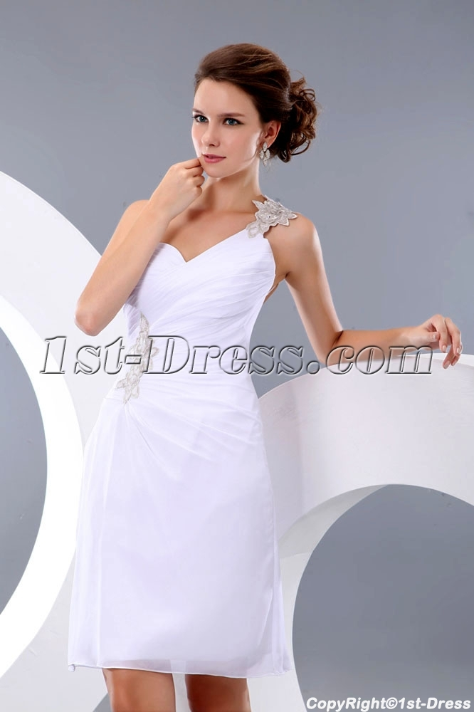 color chart Color Chart     size chart Size Chart     tubiao Measurement      tubiao4 Return Policy     quality guarantee Quality Guarantee     faqs FAQS      Tailoring Period: 10-15 Calendar days. See Details >>     Shipping Time: 2-8 Calendar days. See Details >>  Sexy One Shoulder Backless Little White Party Dress