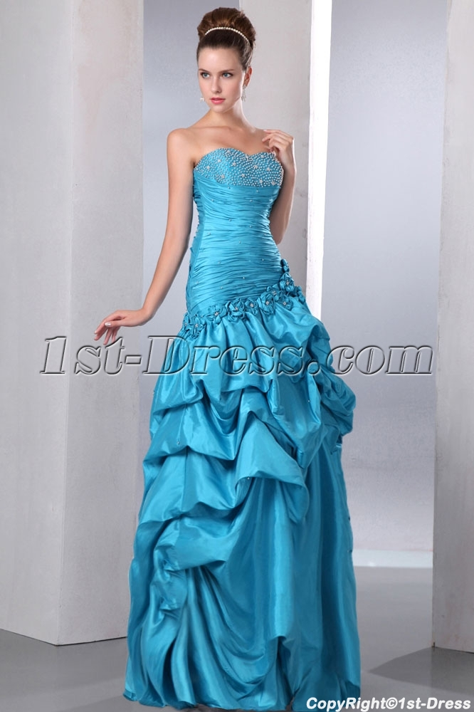 images/201401/big/Special-Strapless-Sweetheart-Long-Cheap-Quinceanera-Dress-with-Pick-up-Skirt-4292-b-1-1390495559.jpg