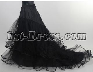 Black Petticoats with Train