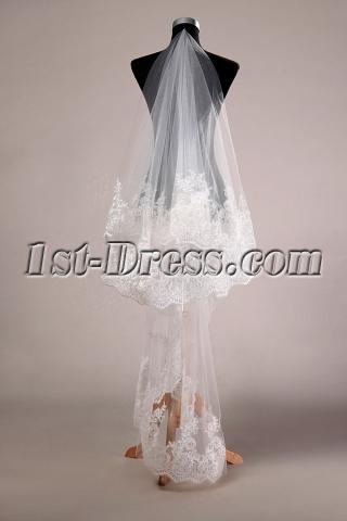 Brilliant Tulle Bridal Veils On Sale