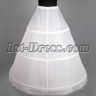 Cheap 1 Layers 3 Hoop Petticoats