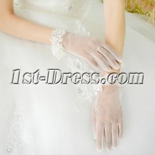 Exquisite Short Wedding Gloves
