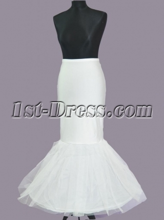 Fishtail Wedding Gown Petticoat