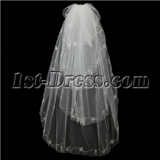 Romantic 4 Layers Wedding Veils