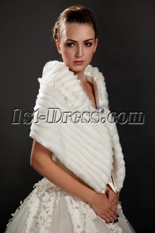 Wedding Fur Shawls Wraps for Winter