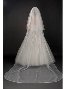 2 Tier Cathedral Wedding Veils