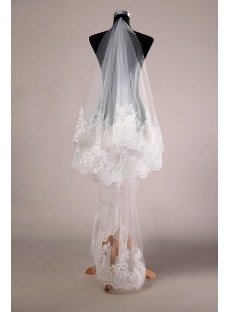 Brilliant Tulle Bridal Veils On Sale