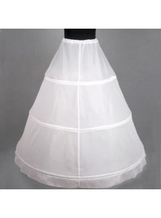 Cheap 1 Layers 3 Hoop Petticoats