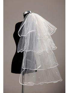 Cheap 4 Layers Bridal Veils Online