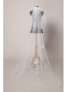Fashionable Cathedral Wedding Veils