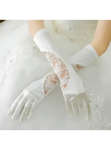 Lace Special Wedding Gloves