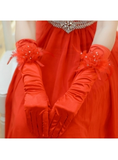 Red Elbow Opera Evening Gloves