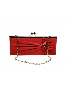 Red Elegant Party Clutch
