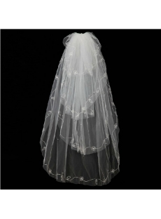 Romantic 4 Layers Wedding Veils