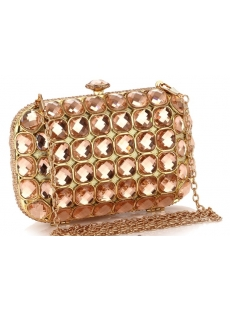 Romantic Full Rhinestone and Diamond Handbags