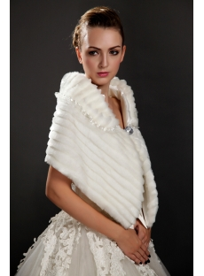 Wedding Fur Shawls Wraps for Winter