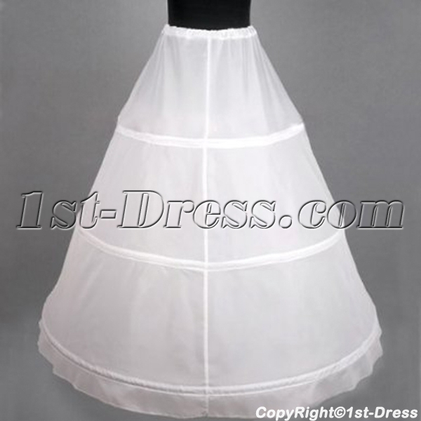 Cheap 1 Layers 3 Hoop Petticoat