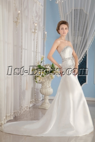 Luxurious Jeweled 2015 Bridal Gowns