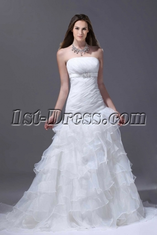 Romantic Mermaid 2015 Bridal Gown