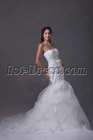 Sweetheart Mermaid Couture Bridal Gown 2015