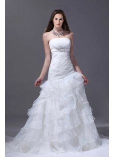 Romantic Mermaid 2015 Bridal Gown