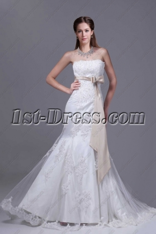 Charming Mermaid Lace Couture Wedding Dresses