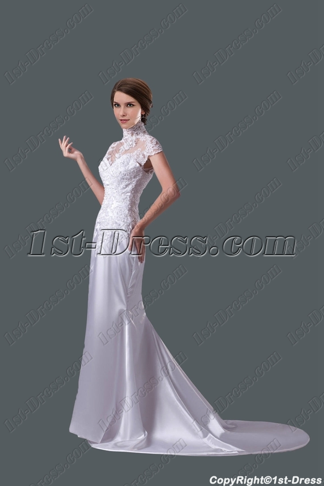 images/201507/big/Romantic-Sheath-Lace-Wedding-Dress-with-Cap-Sleeves-4519-b-1-1437138984.jpg