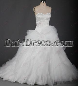 Charming 2016 Ruffles Wedding Dresses