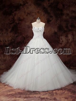 Sweet Ball Gown Wedding Dresses 2016
