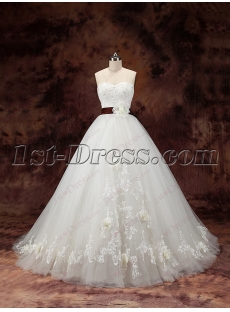 2016 Beautiful Princess Ball Gown Wedding Dresses