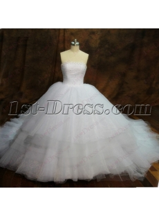 Exquisite Puffy Ball Gowns Wedding Dress 2016