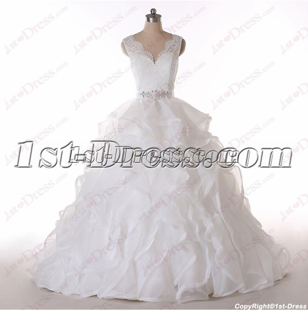 images/201602/big/Cinderella-V-neckline-Lace-Wedding-Dresses-2016-4589-b-1-1456228782.jpg