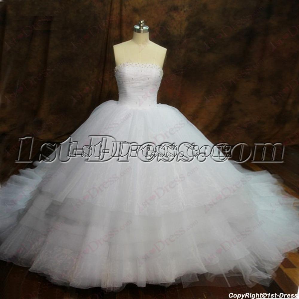 exquisite puffy ball gowns wedding dress 20161stdresscom