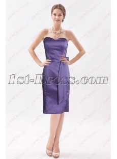 Simple Lilac Knee Length Mother of the Bride Outfits