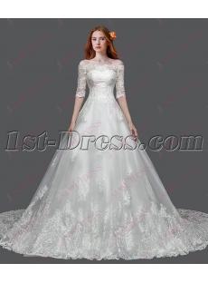Best Off Shoulder Lace Bridal Gown 2016