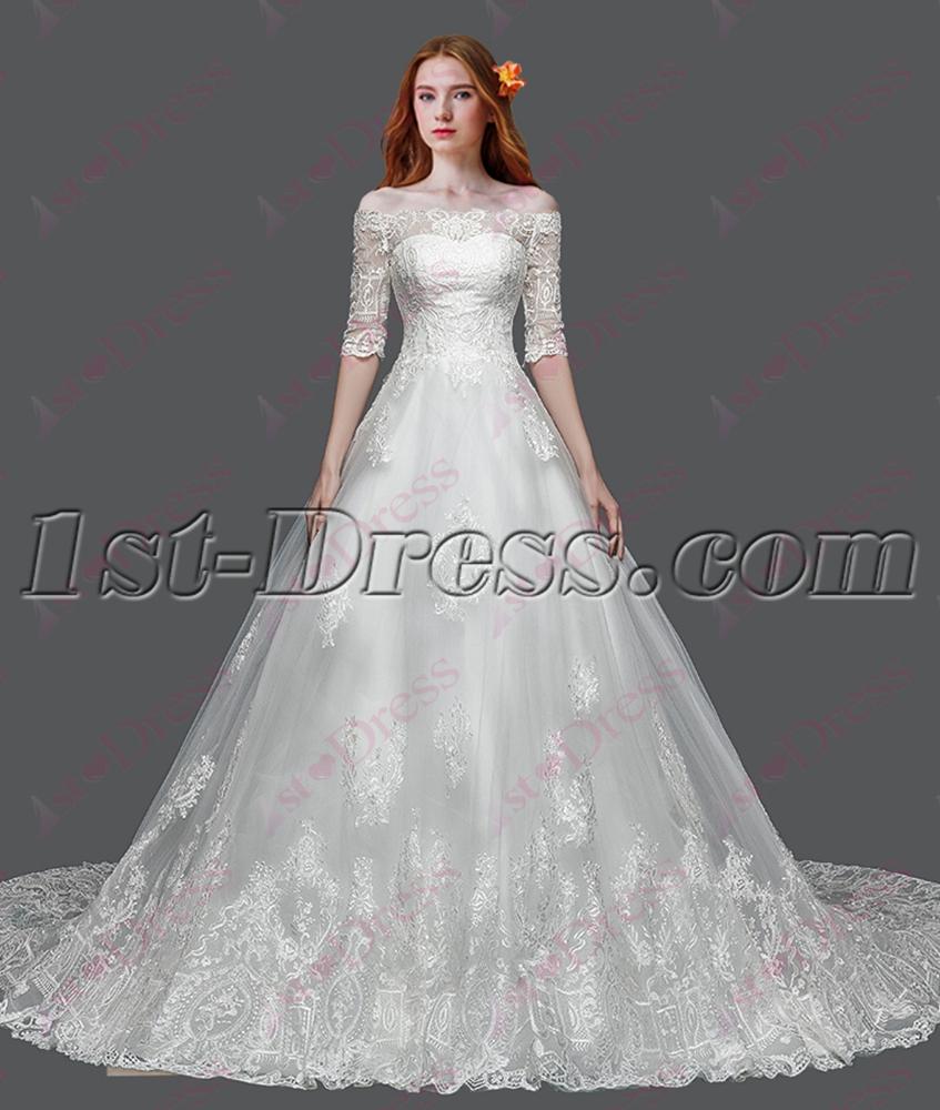 images/201604/big/Best-Off-Shoulder-Lace-Bridal-Gown-2016-4658-b-1-1461680094.jpg