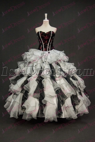 Best 2 Pieces Masquerade Ball Gown