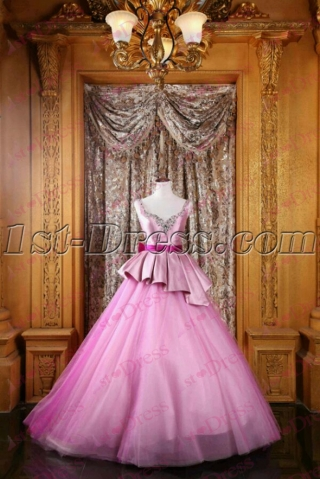 Vintage Pink Quince Gown 2016