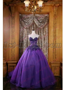Pretty Violet 2016 Sweet 15 Ball Gown