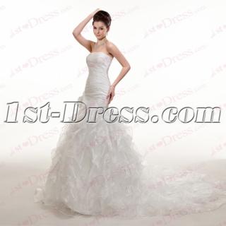 2016 Strapless Mermaid Bridal Gown