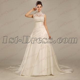 Classic Lace A-line 2016 Bridal Gown