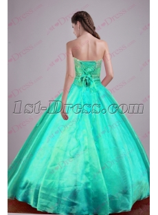 Discount Teal Green 2016 Quinceanera Dresses
