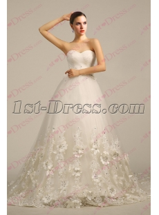 Luxurious Ivory 2017 Wedding Dress