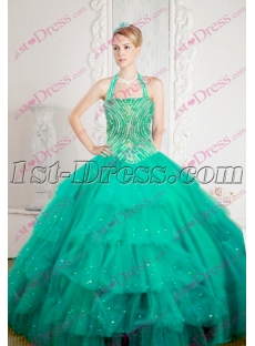New Halter Quinceanera Dress 2016