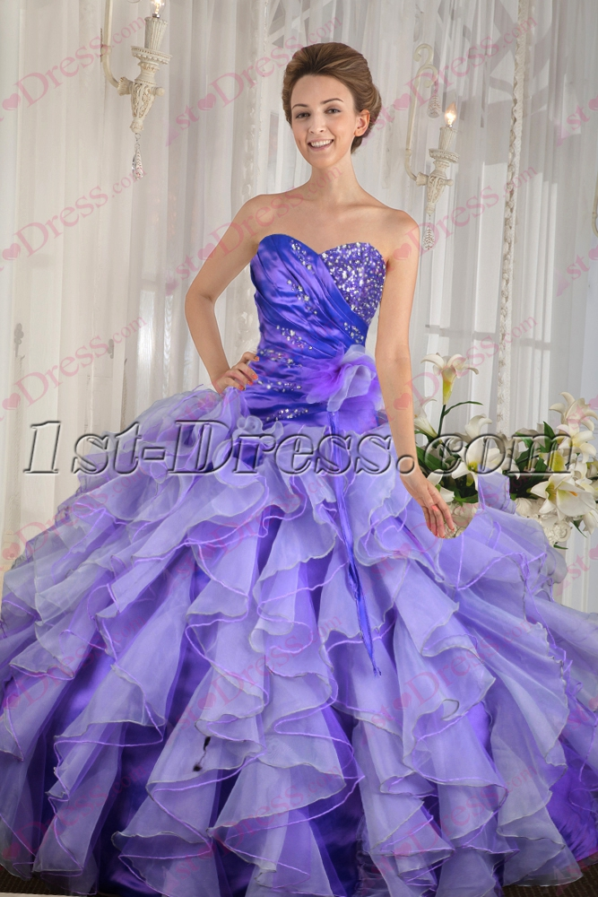 images/201607/big/Charming-Ruffles-Colorful-2016-Quince-Dress-4701-b-1-1467973824.jpg
