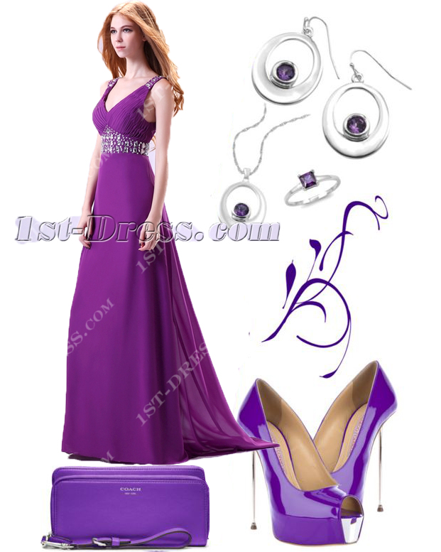 images/201608/big/Purple-Plunge-V-neckline-Chiffon-2014-Evening-Gown-3544-b-1-1472217099.jpg