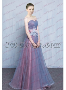 Charming Strapless Quinceanera Gown for 2017